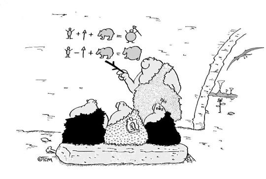 Arithmétique aux temps préhistoriques
